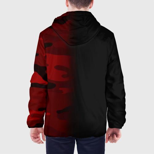 Мужская куртка 3D  Фото 05, Supreme Military Black Red