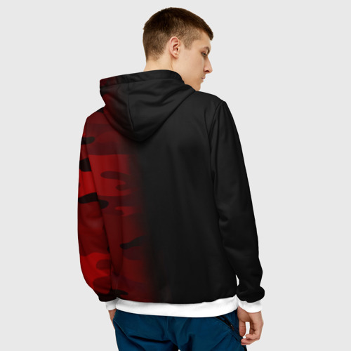 Supreme Military Black Red фото