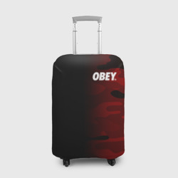 Obey Military Black Red