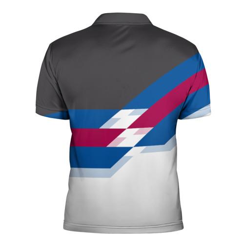 Мужская рубашка поло 3D  Фото 02, FC Barcelona 2018 №1