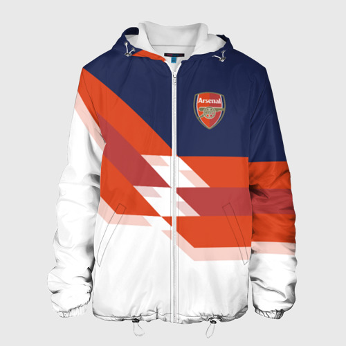 Мужская куртка 3D  Фото 01, FC Arsenal 2018 New