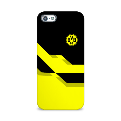 Чехол для Apple iPhone 5/5S 3D  Фото 01, FC Borussia Dortmund  2018