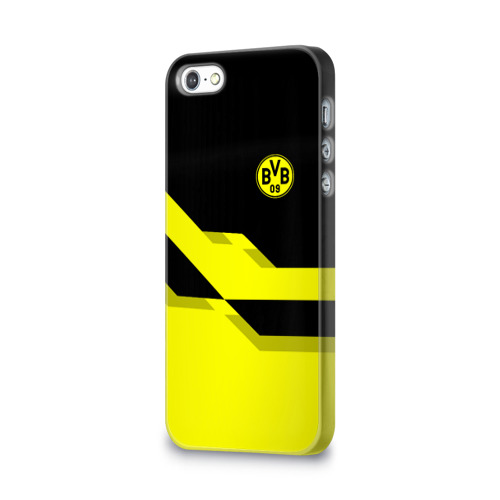 Чехол для Apple iPhone 5/5S 3D  Фото 03, FC Borussia Dortmund  2018