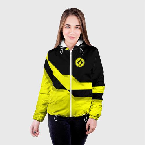 Женская куртка 3D  Фото 03, FC Borussia Dortmund  2018