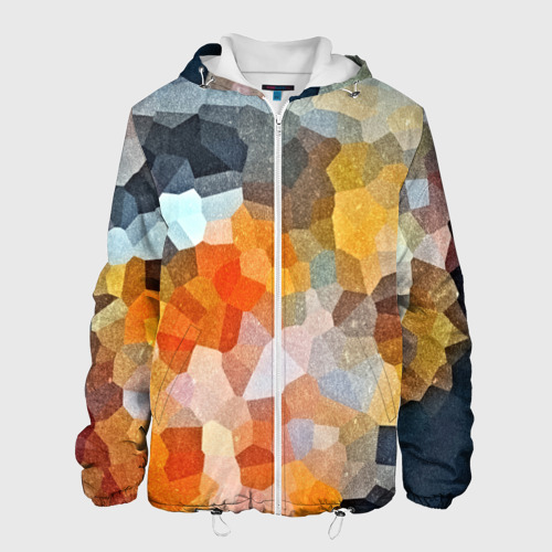 Мужская куртка 3D  Фото 01, Мозаика в блеске