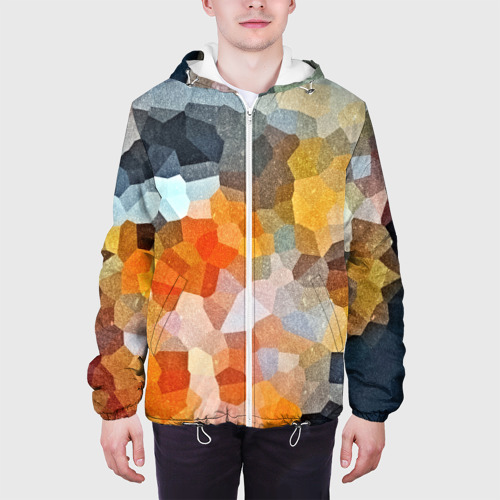 Мужская куртка 3D  Фото 04, Мозаика в блеске