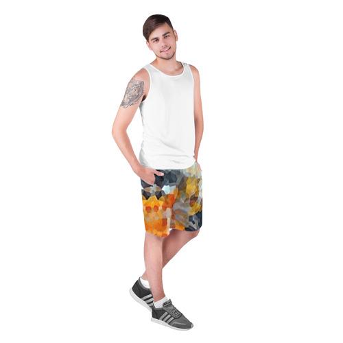 Мужские шорты 3D  Фото 03, Мозаика в блеске