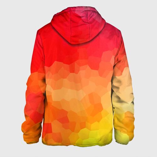 Мужская куртка 3D  Фото 02, Яркая абстракция