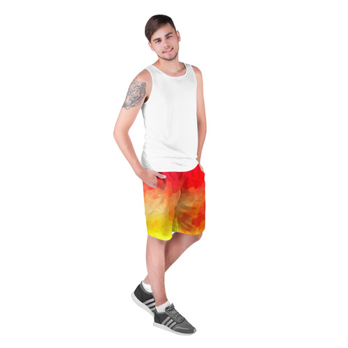 Мужские шорты 3D  Фото 03, Яркая абстракция