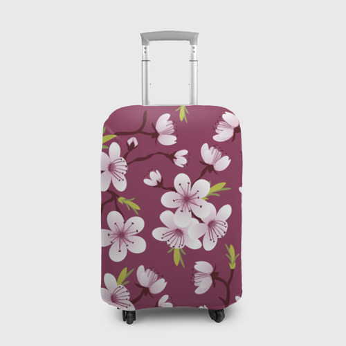 Чехол для чемодана 3D Сакура Фото 01