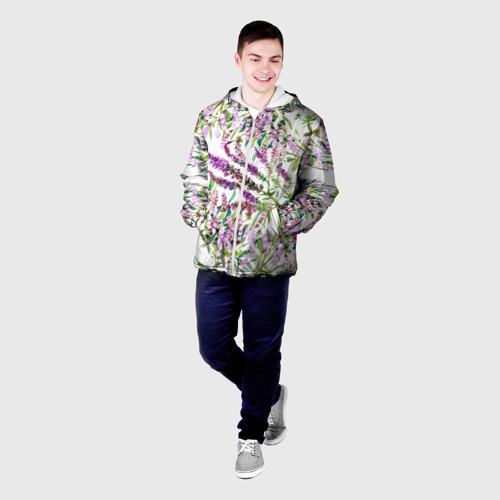 Мужская куртка 3D  Фото 03, Лаванда
