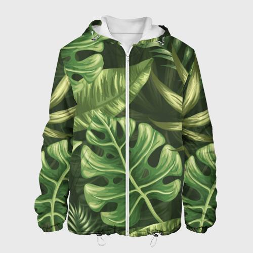 Мужская куртка 3D  Фото 01, Доисторический лес