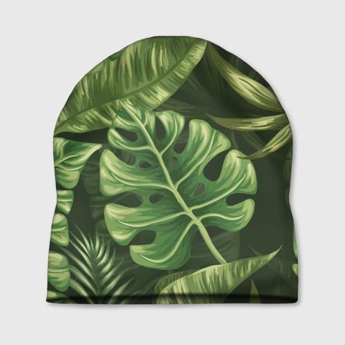 Шапка 3D  Фото 01, Доисторический лес