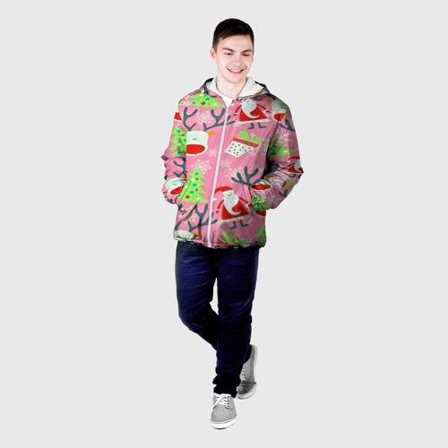 Мужская куртка 3D  Фото 03, New Year