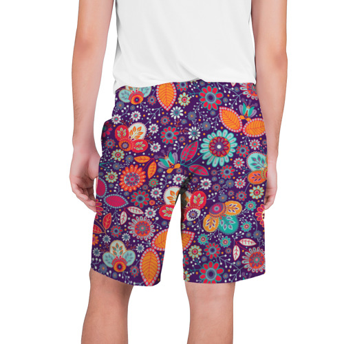 Мужские шорты 3D  Фото 02, Цветочный взрыв