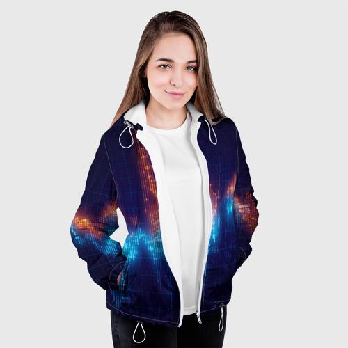 Женская куртка 3D  Фото 04, Компьютерный код