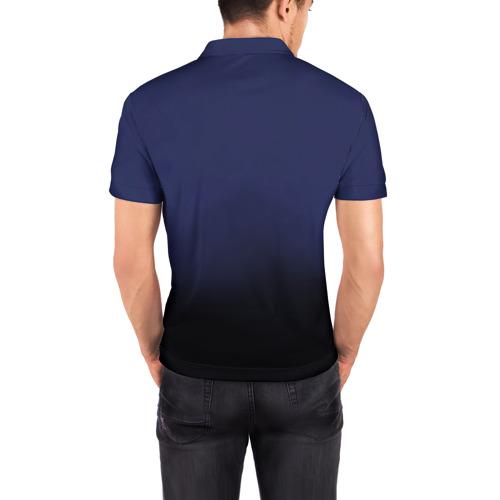 Мужская рубашка поло 3D  Фото 04, AC DC Тор молнии