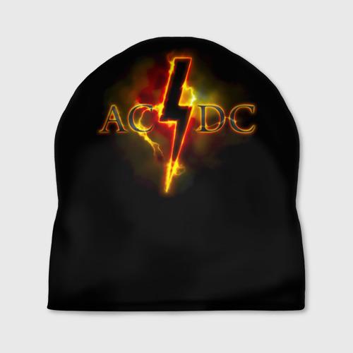 Шапка 3D  Фото 01, AC/DC огонь