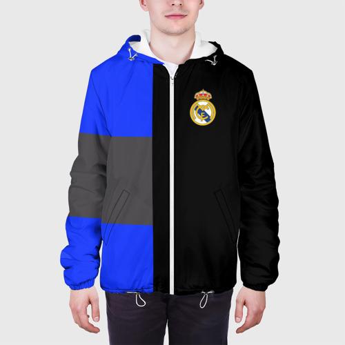 Мужская куртка 3D  Фото 04, Real Madrid 2018 Black Version