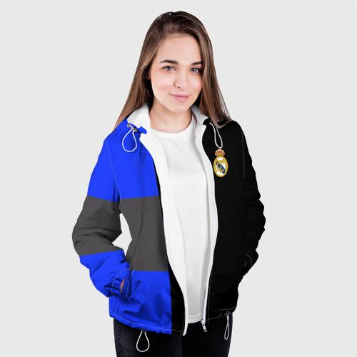 Женская куртка 3D  Фото 04, Real Madrid 2018 Black Version