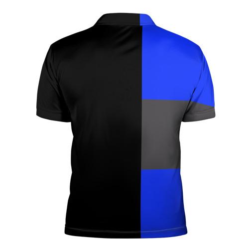 Мужская рубашка поло 3D  Фото 02, Real Madrid 2018 Black Version