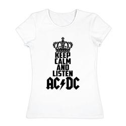 Keep calm and listen AC/DC