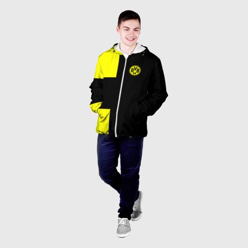 Мужская куртка 3D  Фото 03, FC Borussia Dortmund Black