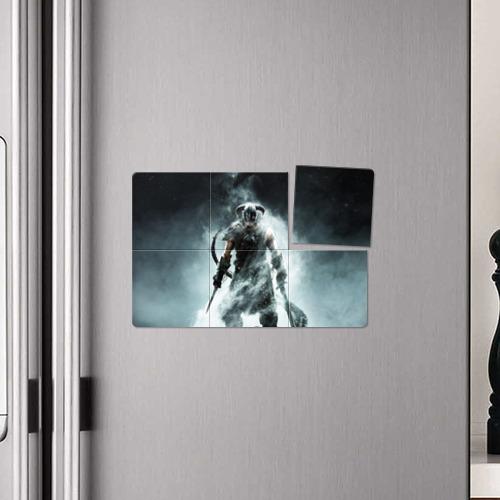 Магнитный плакат 3Х2 Skyrim Фото 01