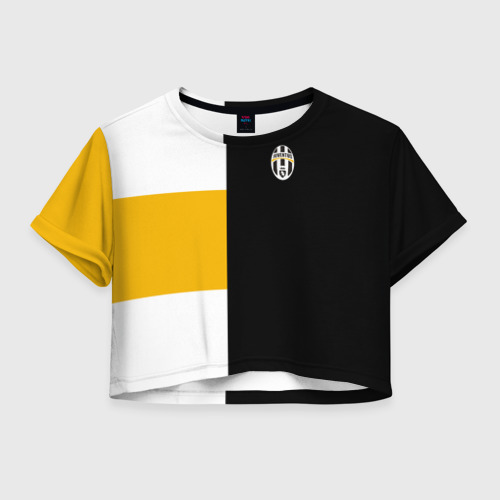 Женская футболка Cropp-top Juventus 2018 Black Version