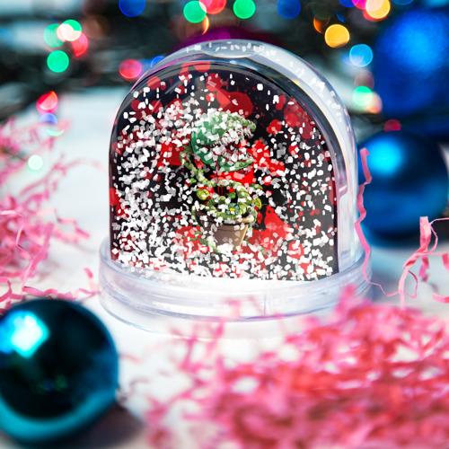 Водяной шар со снегом  Фото 04, Монстр