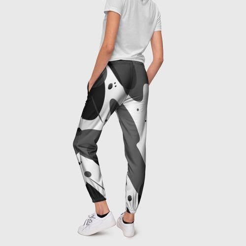 Женские брюки 3D  Фото 02, Серая окраска