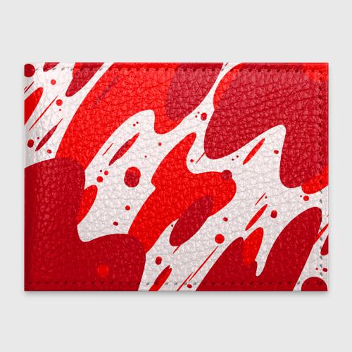 Обложка для студенческого билета  Фото 01, Кровь