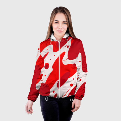 Женская куртка 3D  Фото 03, Кровь