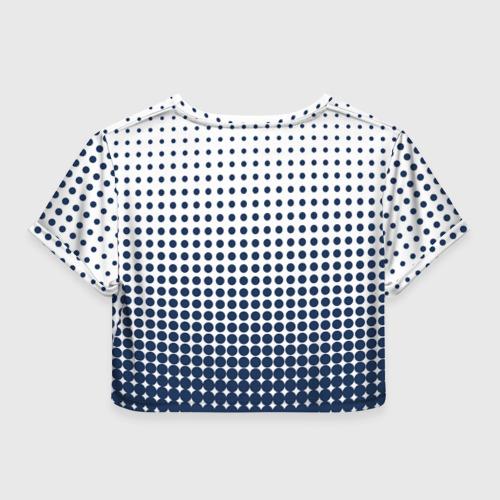 Женская футболка 3D укороченная  Фото 02, Smile!