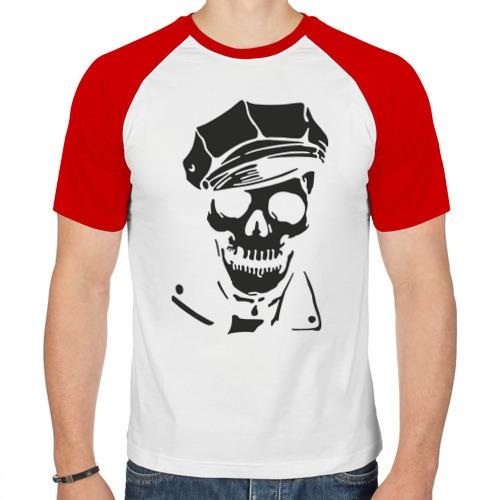 Мужская футболка реглан  Фото 01, Ленин