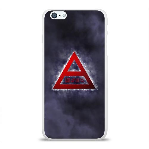 Чехол для Apple iPhone 6Plus/6SPlus силиконовый глянцевый  Фото 01, Thirty Seconds to Mars дым