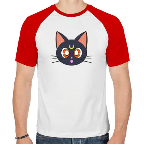 Мужская футболка реглан  Фото 01, Cat