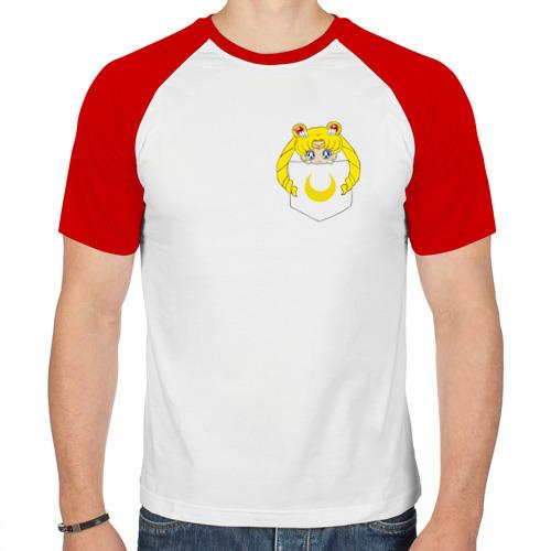 Мужская футболка реглан  Фото 01, Луна в кармане