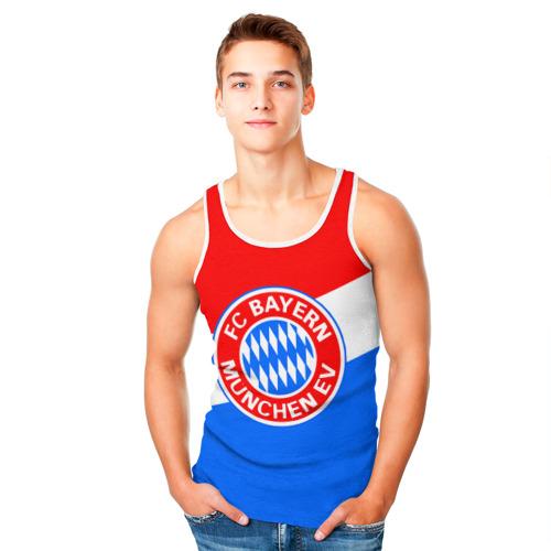 Мужская майка 3D  Фото 05, FC Bayern 2018 Colors
