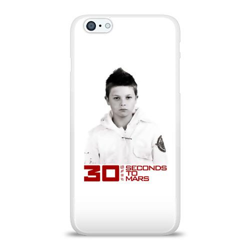 Чехол для Apple iPhone 6Plus/6SPlus силиконовый глянцевый  Фото 01, Альбом 30 Seconds to Mars
