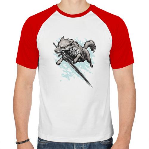 Мужская футболка реглан  Фото 01, The Swordswolf