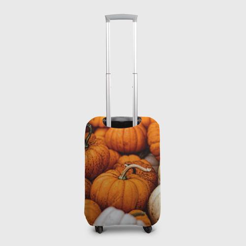 Чехол для чемодана 3D  Фото 02, тыквы