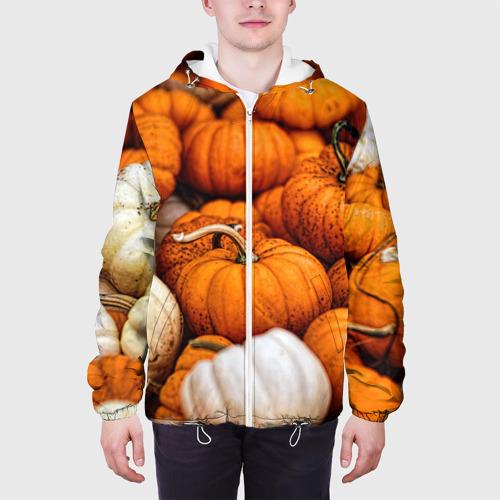 Мужская куртка 3D  Фото 04, тыквы