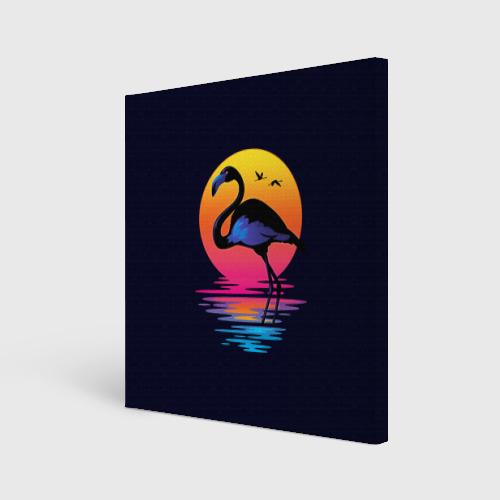 Фламинго дитя заката