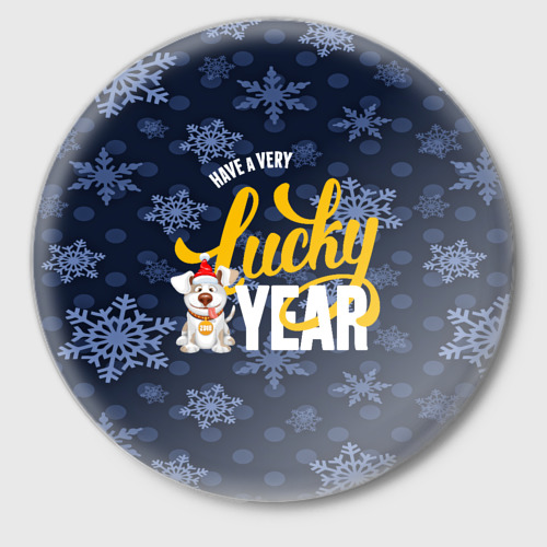 Значок  Фото 01, Lucky Year