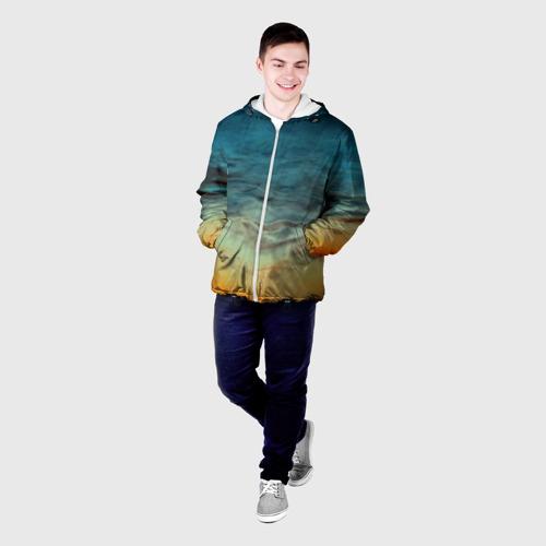 Мужская куртка 3D  Фото 03, Текстура космоса