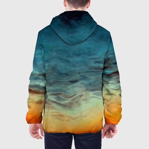Мужская куртка 3D  Фото 05, Текстура космоса