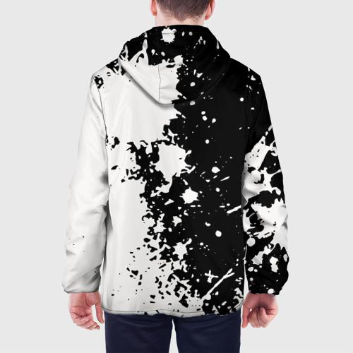 Мужская куртка 3D  Фото 05, Брызги краски