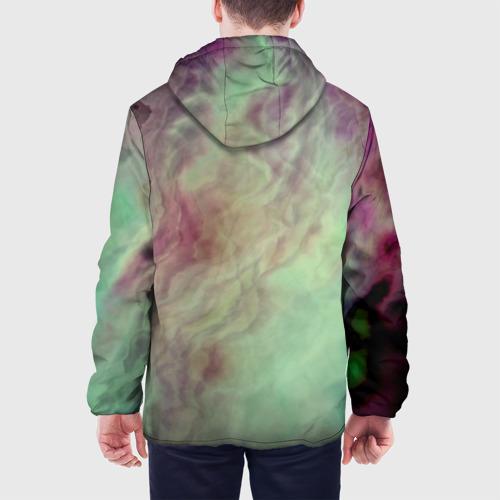 Мужская куртка 3D  Фото 05, Размытый космос