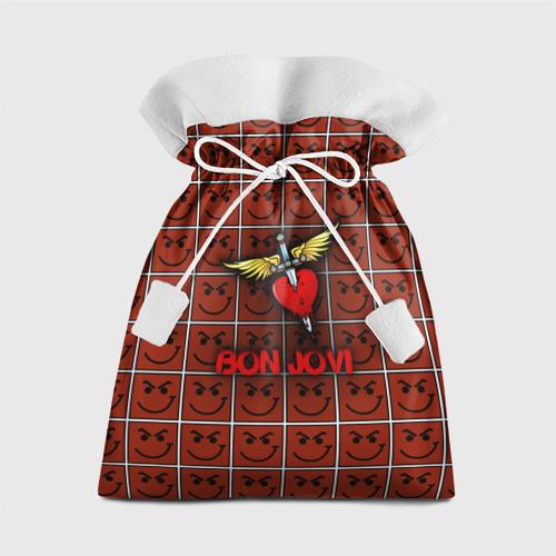 Подарочный 3D мешок Смайлы Bon Jovi Фото 01